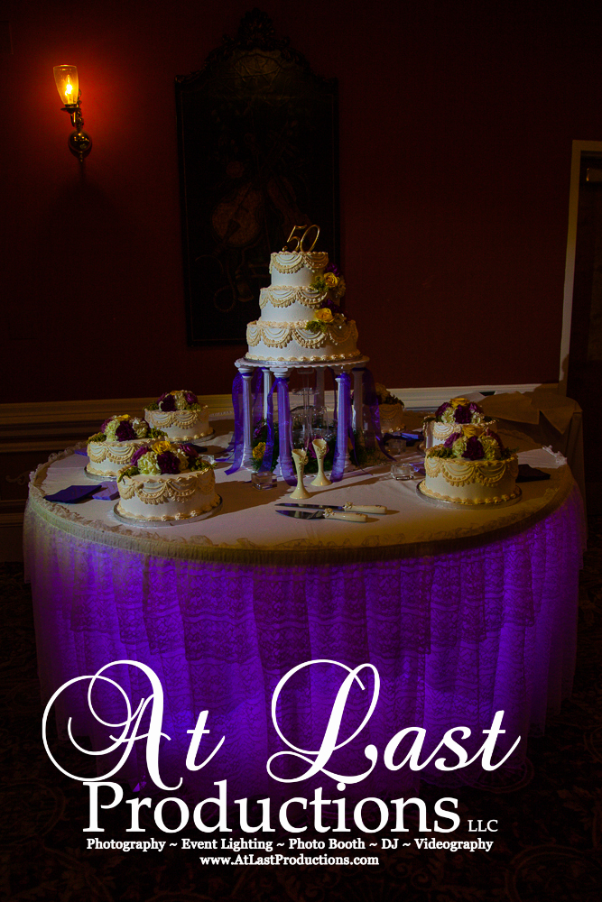 Amazing Cake Spotlight and Table Lighting