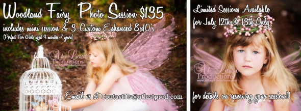 Woodland Fairy Session